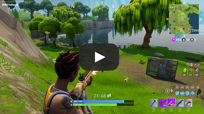 fortnite how to change material pc